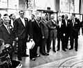 President Eisenhower and labor leaders AFL-CIO building dedication 1956.jpg