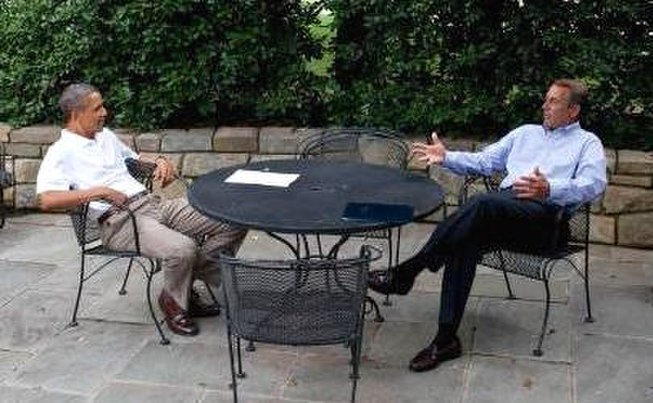 President Obama & John Boehner debt ceiling negotiations