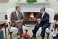 President Ronald Reagan and Tariq Aziz.jpg