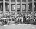 President Taft outside the Forestry Building with large crowd, Alaska Yukon Pacific Exposition, September 1930, 1909 (AYP 1428).jpeg