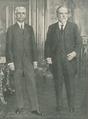 Presidente Canto e Castro e Presidente-eleito António José de Almeida - Ilustração Portugueza (18AGO1919).png