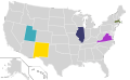 Presidential Candidate Home State Locator Map, 2012 (United States of America).png