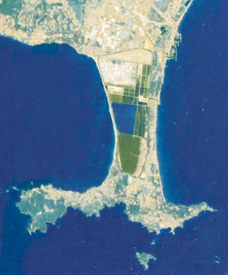 Giens Peninsula - Seen from the air