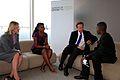 Prime Minister David Cameron meets Frank and Mwajuma from Tanzania (8985285528).jpg