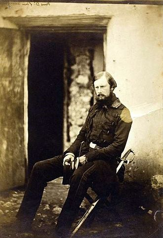 Prince Edward of Saxe-Weimar - Prince Edward in 1855