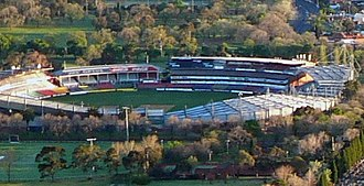 Princes Park (stadium) - Image: Princes park from air