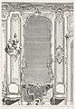 Print, Projet d'un Trumeau de glace pour un grand cabinet fait pour le Portugal; Projet de trumeau avec variante pour le Portugal, 2nd Plate, 1740 (CH 18222689).jpg