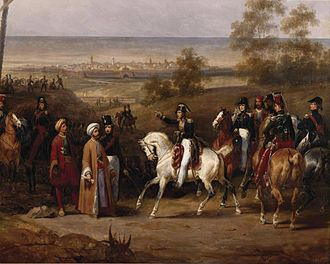 Morea expedition - Capture of Koroni by General Sebastiani (Hippolyte Lecomte).