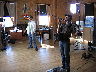 Reality television - Sound crews work in the background of reality television shows.