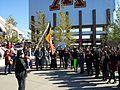 Protest against Washington football team name at TCF Stadium (15073018243).jpg