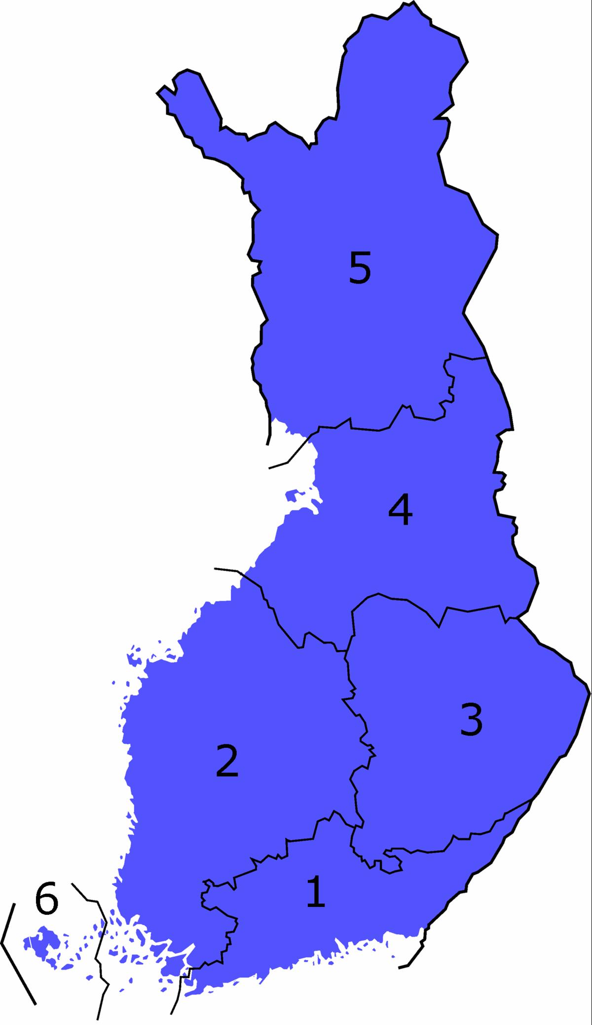 Finlands län – Wikipedia