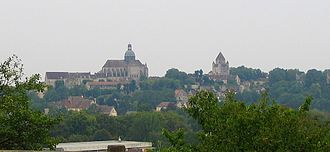 Provins - Image: Provins from north