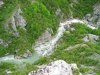 Neretva - Headwaters of the Neretva, just downstream of Ulog.