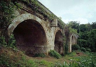 Tortugo, San Juan, Puerto Rico - General Norzagaray Bridge in Tortugo