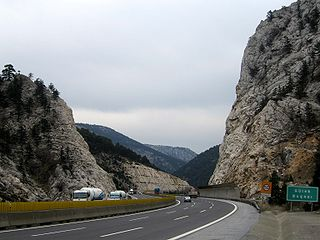 Cilician Gates pass through the Taurus Mountains