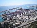Puerto desde Montjuic - panoramio.jpg