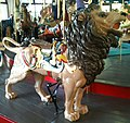 Pullen Park Carousel Animal - Lion.jpg