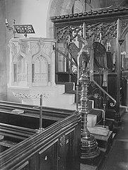 Pulpit & Lectern, St Mary's Church, Cowbridge