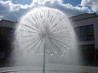 Pusteblumen-Brunnen in Günzburg.JPG