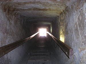 Pyramid G1-c - Tunnel of Pyramid G1-c