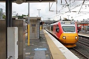 Queensland Rail - Queensland Rail's Tilt Train at Bowen Hills in September 2016