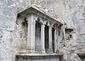 Quin Friary Choir MacNamara Tomb 2015 08 29.jpg