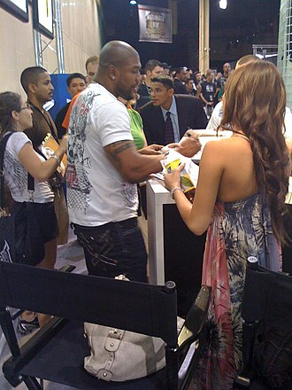 Quinton Jackson - At the UFC 100 Fan Expo event in Las Vegas, July 2009