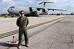 RAAF pilot with a C-17 in 2015.jpg
