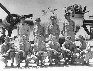 RAF Attlebridge - Image: RAF Attlebridge 466th Bombardment Group Crew 562