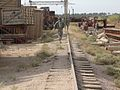 RAKKASAN unit patrols run down Iraqi train yard 2007-2008.jpg