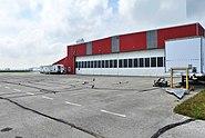 RCAF St. Thomas Hangar Door Side