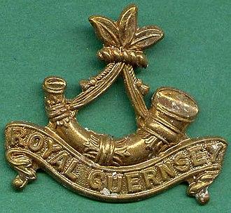 Royal Guernsey Militia - Image: RGLI Badge