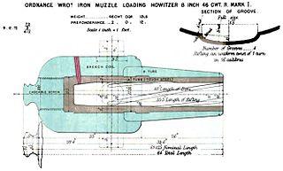 RML 8-inch howitzer RML 8 inch howitzer