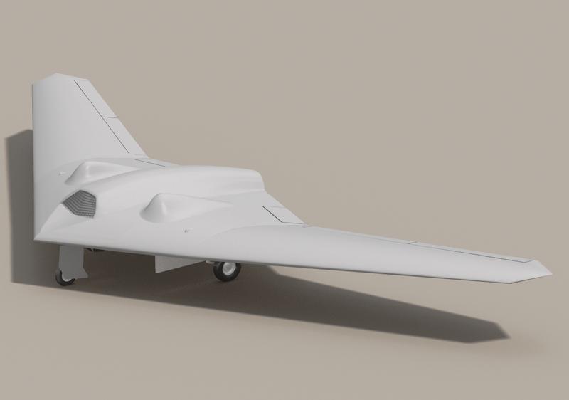 Fuerzas Armadas de EE.UU. 800px-RQ-170_Wiki_contributor_3Dartist