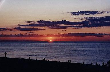 Race point sunset