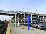 Ramp at Oakland Coliseum station, November 2017.JPG