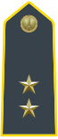 Rank insignia of tenente of the Guardia di Finanza.svg