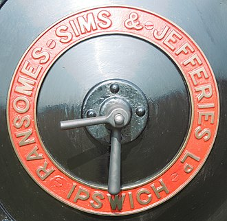 Ransomes, Sims & Jefferies - Image: Ransomes Sims and Jeferies Badge IMG 1836