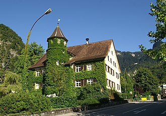 Hohenems - Town hall, built in 1567 as lordly guesthouse