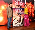 Raveena-Tandon-launches-the-cover-of-Amish's-book-'Sita-Warrior-of-Mithila'.jpg