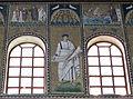Ravenna, sant'apollinare nuovo, int., santi e profeti, epoca di teodorico 08.JPG