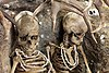 Grave assemblage of two Mesolithic women who died violently at Téviec
