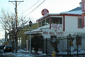 Barelas - The Red Ball Cafe, a Barelas landmark