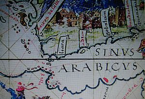 Perim - Perim shown on an early Portuguese map