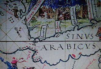 Perim - Perim shown on an early Portuguese map