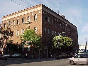 Redstone Building - The San Francisco Labor Temple known today as the Redstone Building