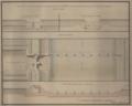 Reinaldo Oudinot, Planta, Perfil e Elevação dos Boqueiros construídos por ordem de S.MAG.de no sitio da Louba do Loureiro do Campo de Leiria, para se fer- tilizar, e se regar o mesmo, 1782.png