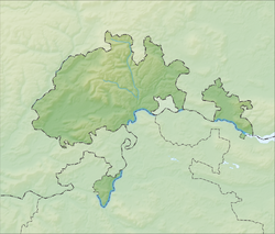 Beringen is located in Canton of Schaffhausen