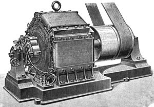 René Thury - Image: Rene Thury six pole dynamo
