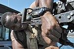 Repairing a Machine Gun on Patrol in Guantanamo Bay, Cuba DVIDS1091658.jpg